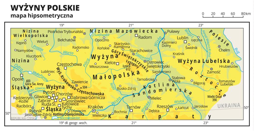 Podróż Przez Regiony Geograficzne Polski
